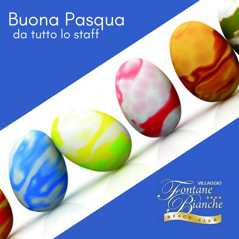 Buona Pasqua da Hotel Fontane Bianche