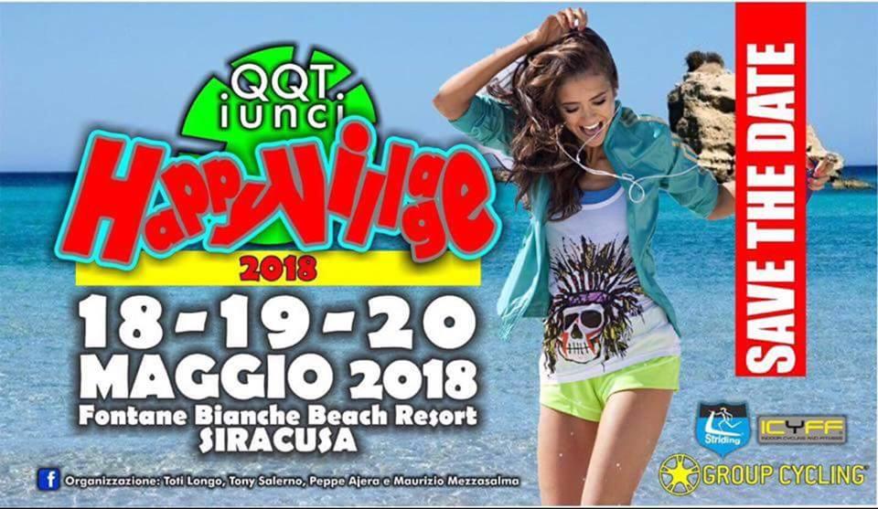 Happy Village 2018: dal 18 al 20 Maggio ad Hotel Fontane Bianche