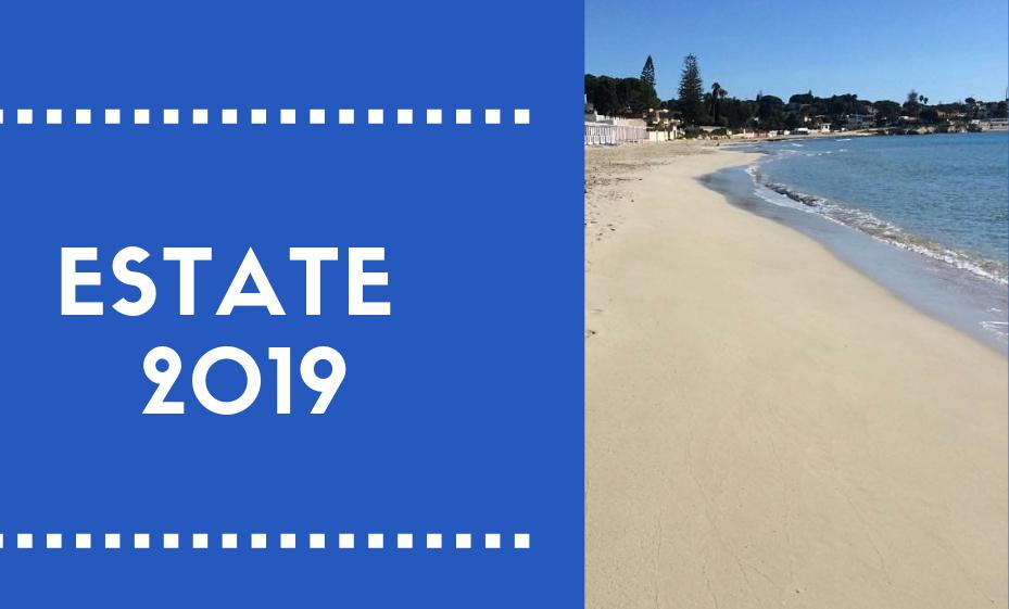 Estate 2019: prenotazioni aperte