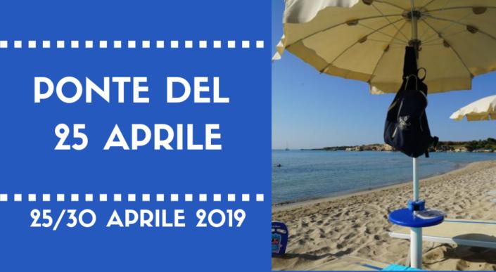 Ponte del 25 Aprile ad Hotel Fontane Bianche. 25/30 Aprile 2019